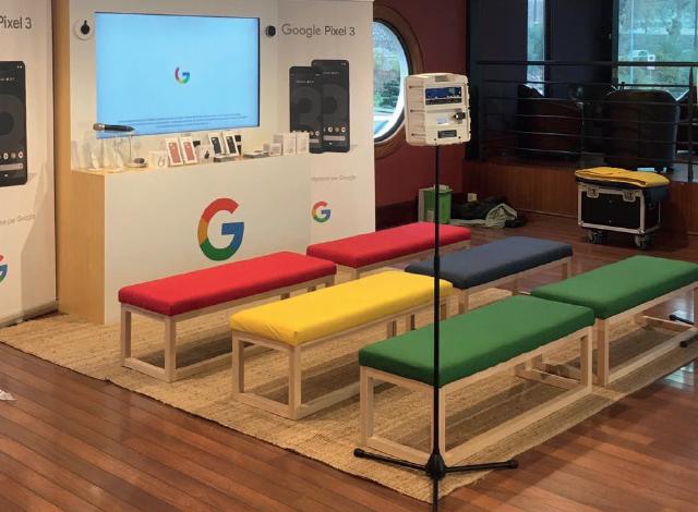 Stand sur Mesure pour Google